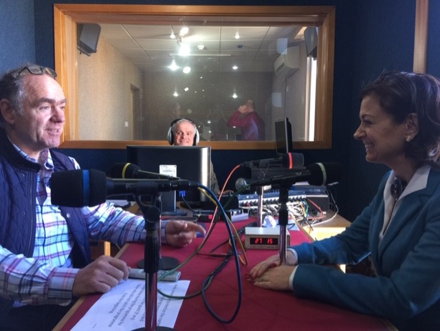 Mente's CEO visits the University of Malta's radio station, Campus FM