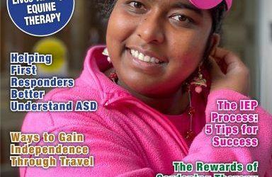 Mente featured in Autism Parenting Magazine